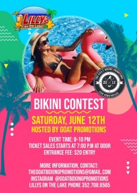 Bikini Contest at Lilly's on the Lake