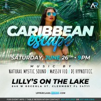 Caribbean Escape Party at Lilly's on the Lake!